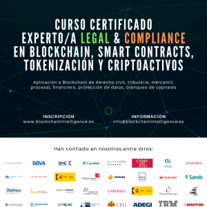 Curso Certificado Experto/a Legal & Compliance en Blockchain