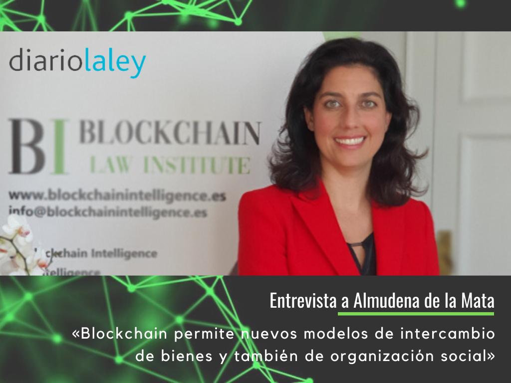 Blockchain permite nuevos modelos de intercambio de bienes y también de organización social (1)