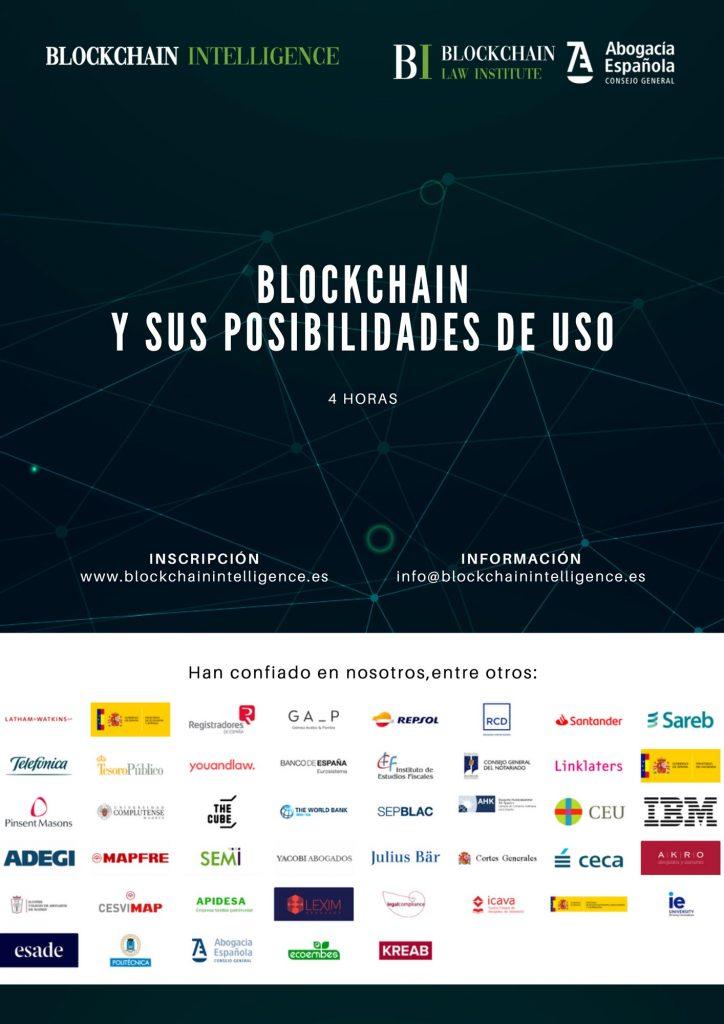 Curso Blockchain y sus posibilidades de uso